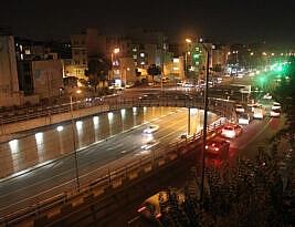 حیات نیمشبانه در نیمه تهران
